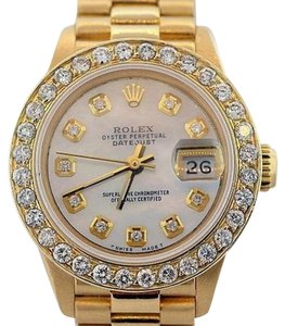 Rolex 2.3ct 26MM Ladies Presidential 18k Gold Watch W/ ROLEX BOX & APPRAISAL