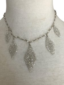 Chan Luu New Auth Chan Luu Moonlight Swarovski Crystal Teardrop Statement Neckl