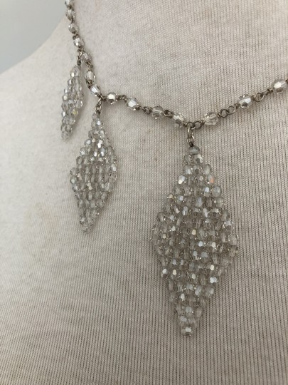 Chan Luu New Auth Chan Luu Moonlight Swarovski Crystal Teardrop Statement Neckl Image 3