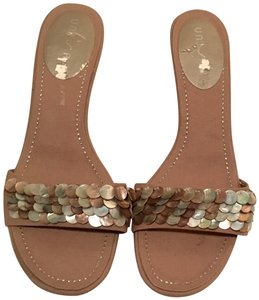 lunisa moeler mother of pearl/tan Mules