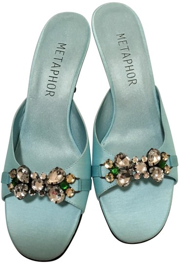 Metaphor aqua/baby blue Formal Image 0