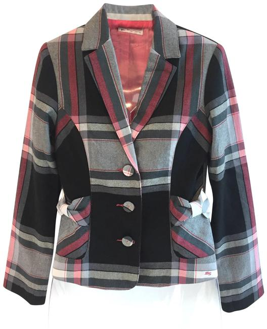 Preload https://img-static.tradesy.com/item/22682328/ben-sherman-plaid-with-bow-and-pleat-details-blazer-size-2-xs-0-1-650-650.jpg