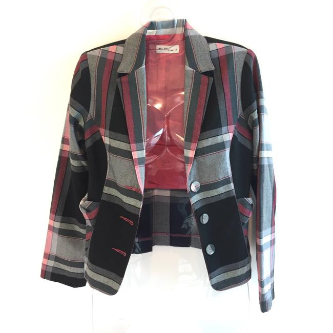 Ben Sherman Plaid Blazer Image 1
