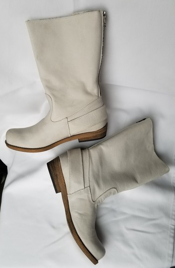 MTNG Spain Leather Off white, gray (-ish) Boots Image 11