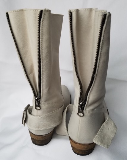 MTNG Spain Leather Off white, gray (-ish) Boots Image 2