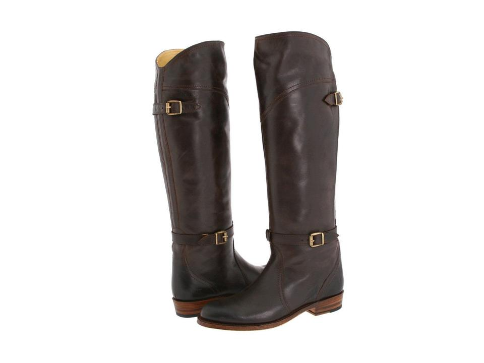 Frye Frye Frye Brown Dorado Leather Riding Boots/Booties 602eb2