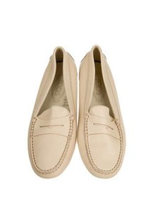 Tod's Loafers Off White Flats