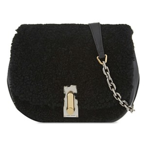Marc Jacobs The Jane Shearling Leather Cross Body Bag