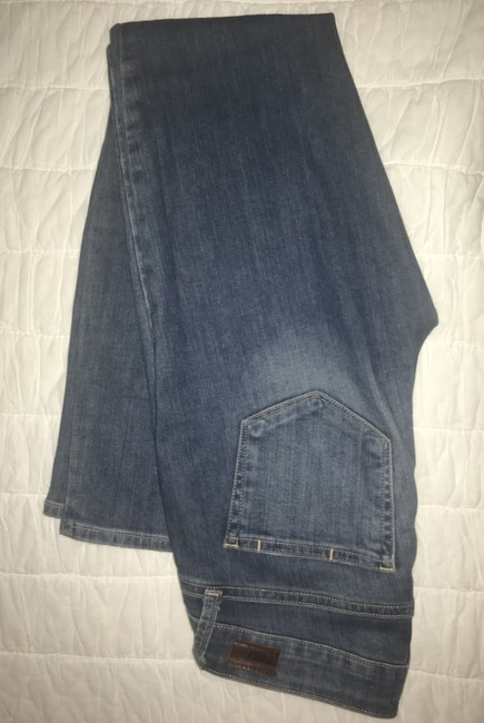 Paige Distressed Torn Ripped Skinny Jeans-Distressed Image 4