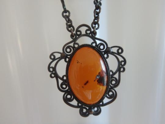 other Vintage Baltic Amber Necklace Image 3