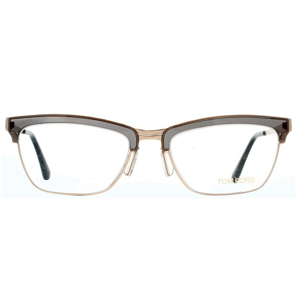 Tom Ford Grey/Rose Gold New Tf 5392 Women\'s Cat Eye Frames ...