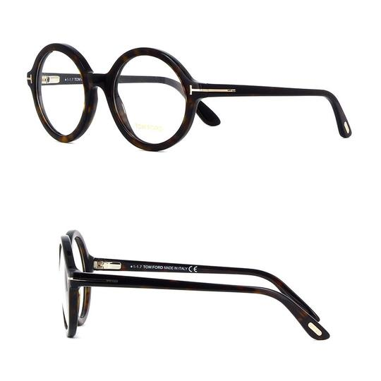 Tom Ford Brown New 5461 Oversized Circle Round Optical Frames - Tradesy