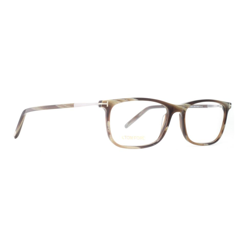 Tom Ford Olive New Tf 5398 Square Green Marbled Frames Sunglasses ...