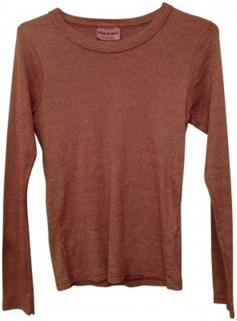 Preload https://item4.tradesy.com/images/michael-stars-brown-tee-shirt-size-os-one-size-22683-0-0.jpg?width=400&height=650