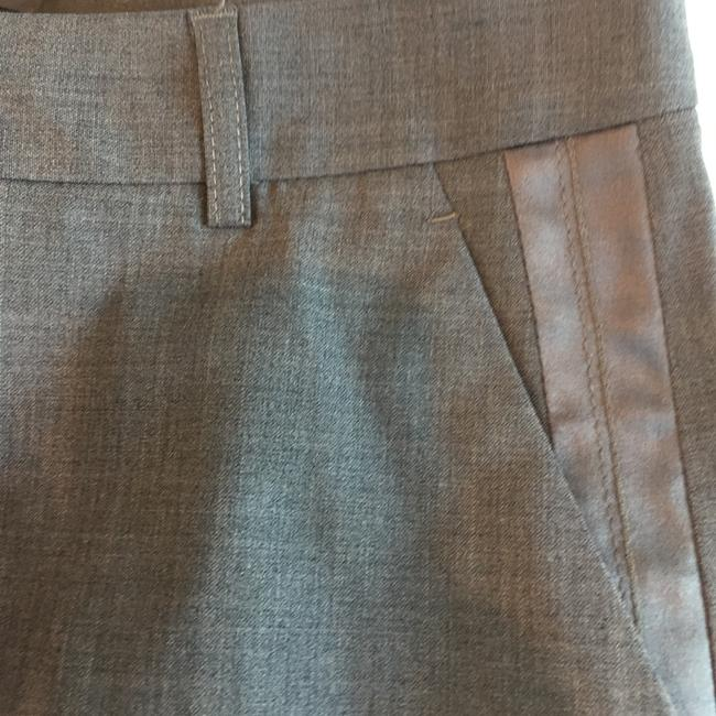 Theory Double-breasted skirt suit with ribbon detail Image 7