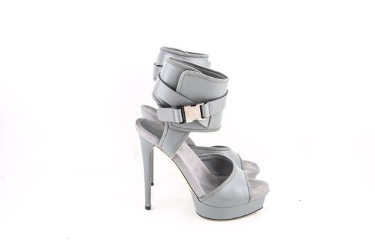 Gucci Grey Platforms Image 3