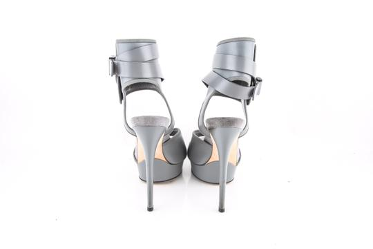 Gucci Grey Platforms Image 4