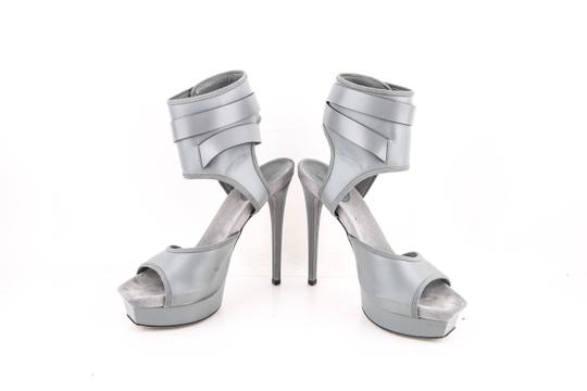 Gucci Grey Platforms Image 5