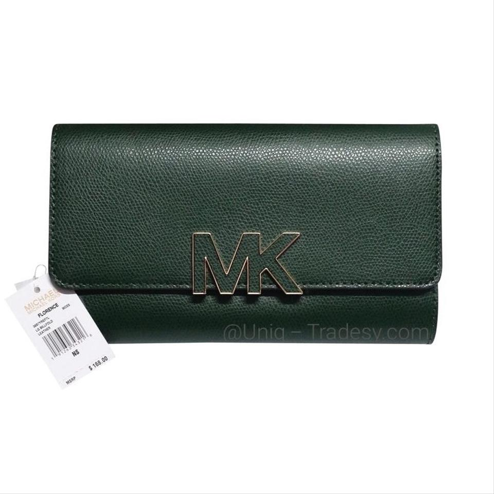 dbd84ccb3fb2 Michael Kors MK Double Sided Large Wallet Clutch Holder ID Wallet Coin Purse  / bag ...