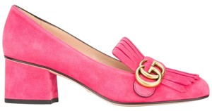Gucci Marmont Marmont Marmont Collection Pink Mules