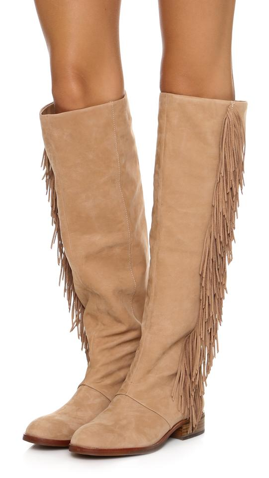 f66293ee924a9 Sam Edelman Camel Suede  josephine  Boots Booties Size US 5 Regular (M