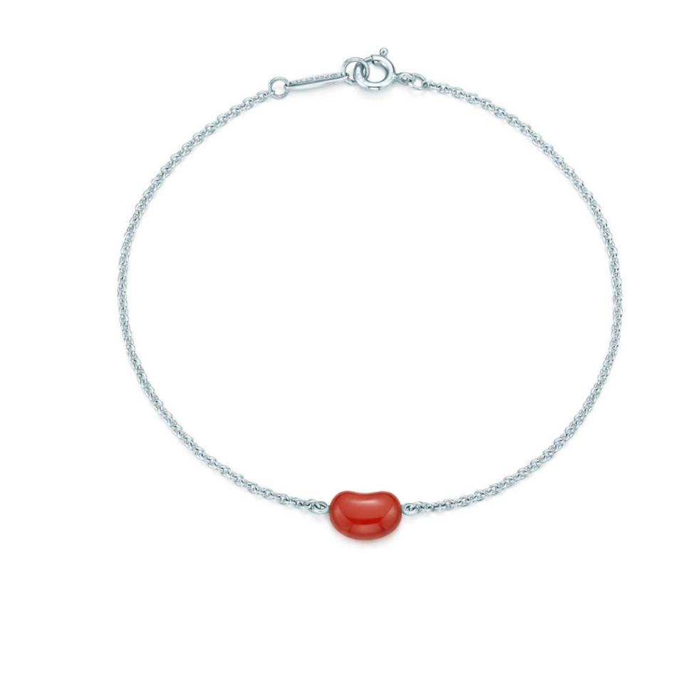 Tiffany Co Red Jasper Peretti S Bean Bracelet