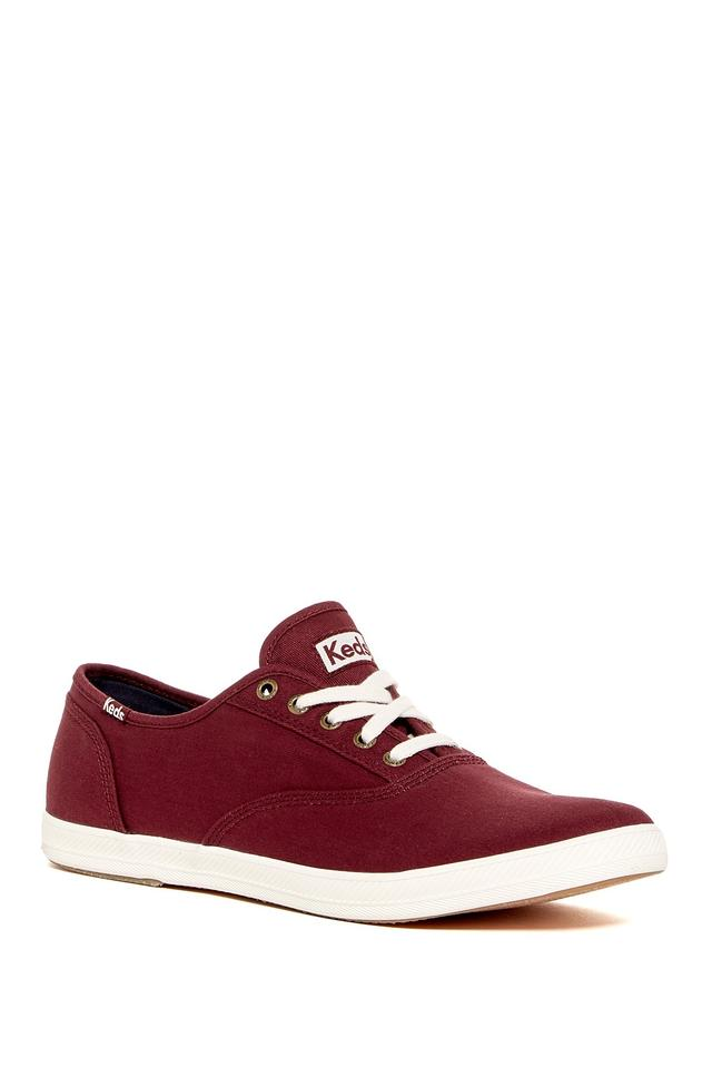 a1b8fb9c2d6 Keds Burgundy Men s Champion Lace-up Sneaker Sneakers Size US 10 ...
