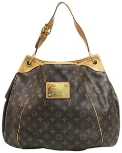 Louis Vuitton Lv Galliera Gm Canvas Hobo Bag