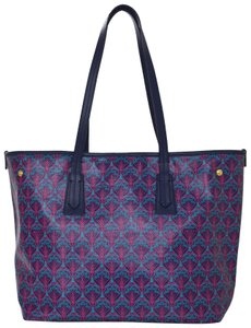Liberty of London Monogram Tote in Pink Blue