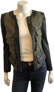 Georgie Moto Style Motorcycle Jacket