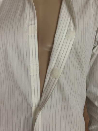 Gucci White with Pinstripes Classic Shirt