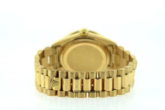 Rolex 2CT 36MM ROLEX DAY-DATE 18K GOLD WITH BOX & APPRAISAL