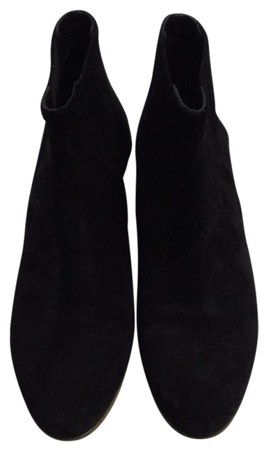 Vince Black Suede Ankle Boots/Booties Size US 8 Regular (M, B) Vince Black Suede Ankle Boots/Booties Size US 8 Regular (M, B) Image 1