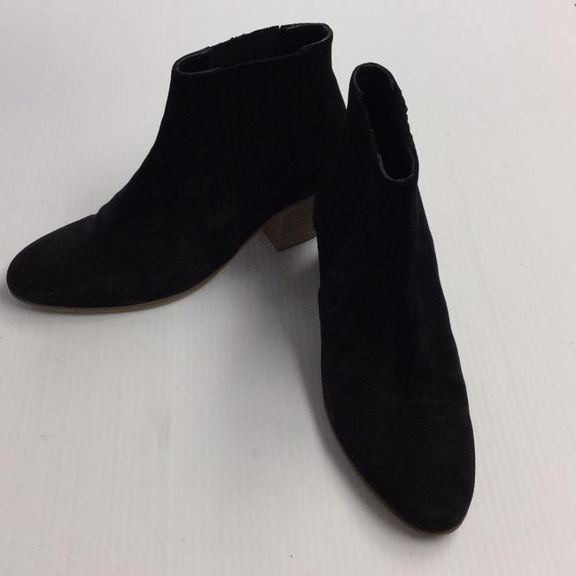 Vince Black Suede Ankle Boots/Booties Size US 8 Regular (M, B) Vince Black Suede Ankle Boots/Booties Size US 8 Regular (M, B) Image 4