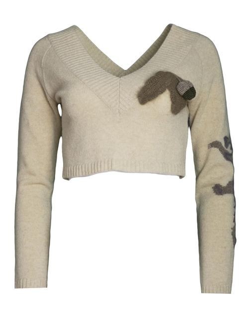 Preload https://item3.tradesy.com/images/stella-mccartney-beige-v-neck-cropped-it42-sweaterpullover-size-4-s-22686252-0-0.jpg?width=400&height=650