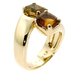 Hermès Hermes Bypass Cocktail Gold Ring
