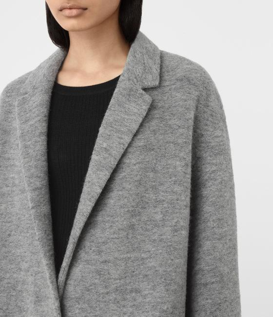 AllSaints Wool Trench Coat