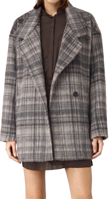 Preload https://img-static.tradesy.com/item/22686388/allsaints-oat-check-meade-wool-coat-size-8-m-0-1-650-650.jpg