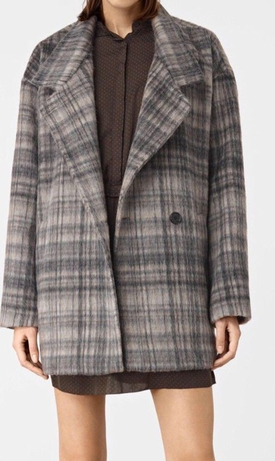 AllSaints Wool Pea Coat