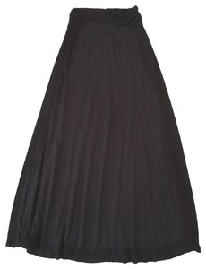 Bobeau Maxi Skirt BLACK