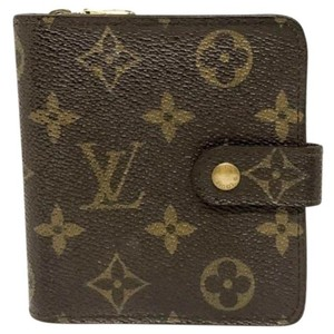 Louis Vuitton Louis Vuitton Monogram Zippy Bi fold Wallet