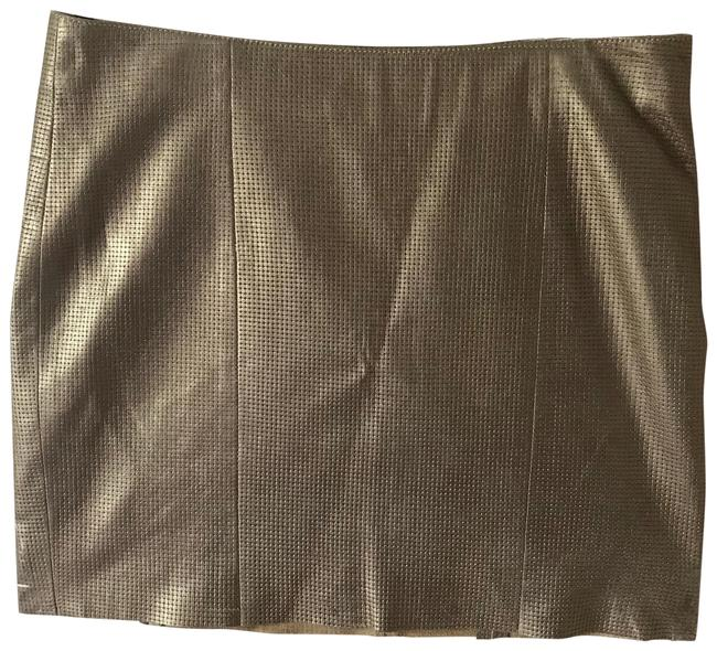 Preload https://item5.tradesy.com/images/gold-leather-skirt-size-2-xs-26-22686434-0-1.jpg?width=400&height=650
