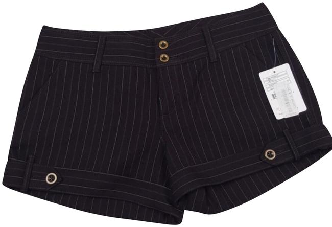 Item - Chocolate/Tan Striped Shorts Size 4 (S, 27)