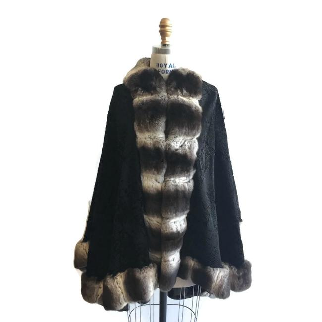 Preload https://item4.tradesy.com/images/black-persian-lamb-with-chinchilla-fur-coat-size-os-one-size-22686538-0-0.jpg?width=400&height=650