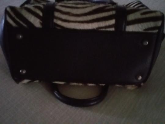 Kate Landry Satchel in Black and White