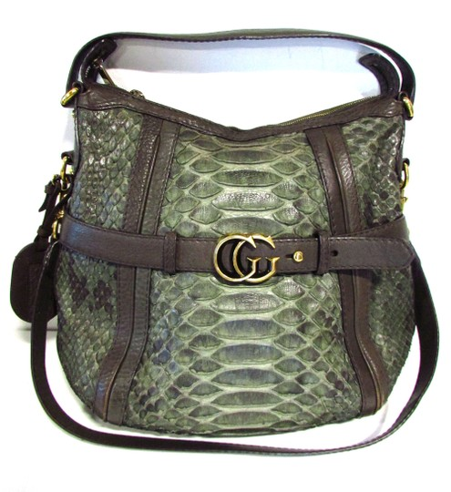 af0c4385196a Gucci Green Snakeskin Bag | Stanford Center for Opportunity Policy ...