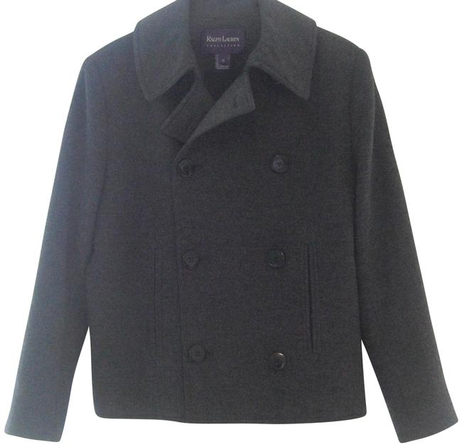 Preload https://item4.tradesy.com/images/ralph-lauren-collection-charcoal-peacoat-jacket-size-10-m-22686663-0-1.jpg?width=400&height=650