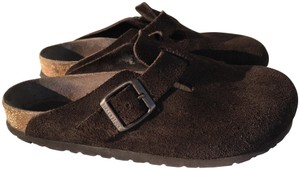 Birkenstock Suede Sustainable Comfortable Eco-friendly Mocha Mules