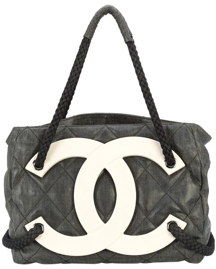 Preload https://item5.tradesy.com/images/chanel-limited-edition-cruise-beach-sold-out-black-coated-canvas-tote-22686679-0-5.jpg?width=440&height=440