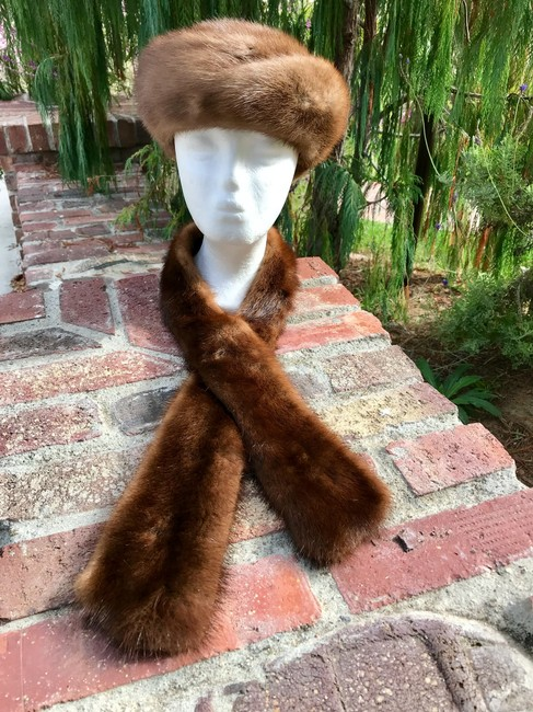 Preload https://img-static.tradesy.com/item/22686724/brown-lovely-vintage-mike-fur-hat-scarf-from-germany-ponchocape-size-os-one-size-0-13-650-650.jpg